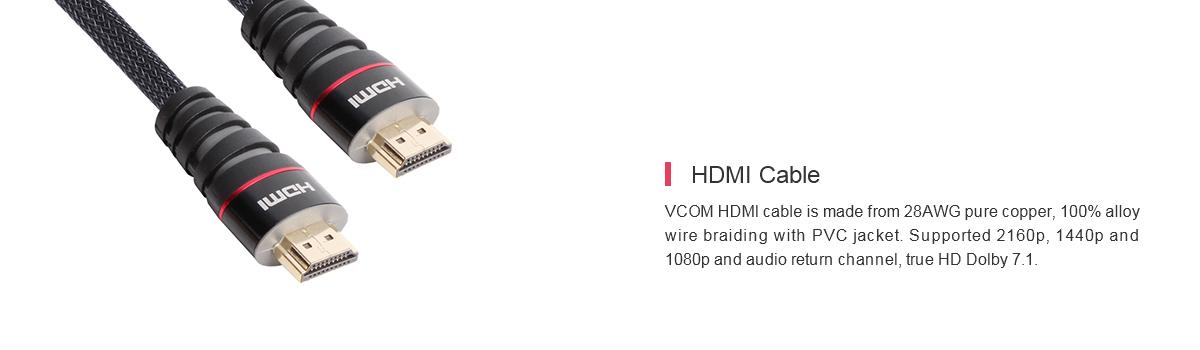 HDMI Cable|4k HDMI Cable|HDMI 1 4 - VCOM International Ltd